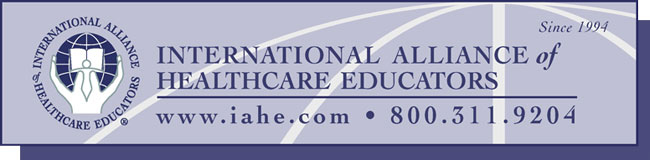 IAHE Internation Alliance of Healthcare Educators
